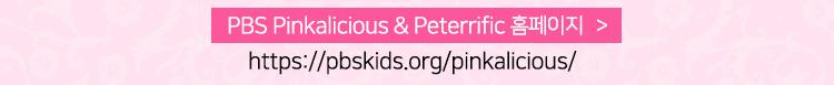 PBS Pinkalicious & Peterrific 홈페이지