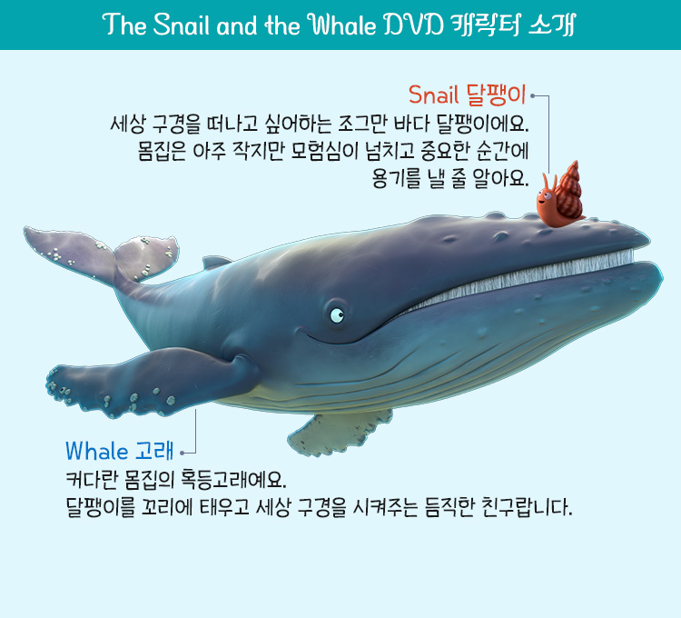 The Snail and the Whale DVD 주요 캐릭터 소개